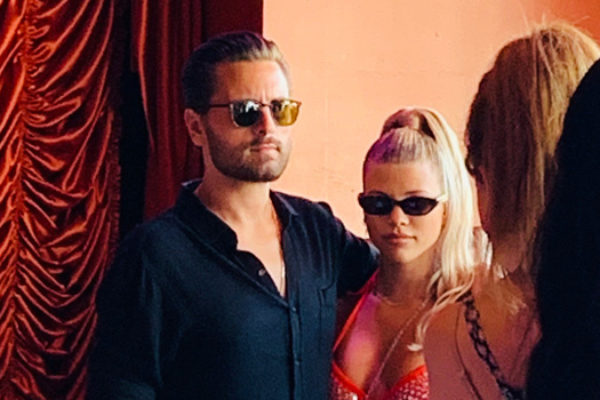 Scott Disick & Sofia Richie