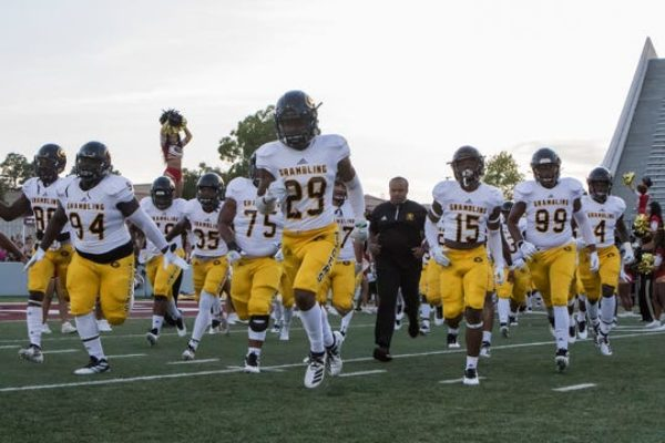 University of Louisiana at Monroe defeated Grambling State 31-9 in the season opening game at Malone Stadium in Monroe, La. on Aug. 31