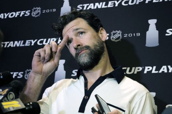 Justin Williams helped lead the Carolina Hurricanes to the Eastern Conference final.